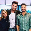 officialellenk Ryan Seacrest Adam enhanced