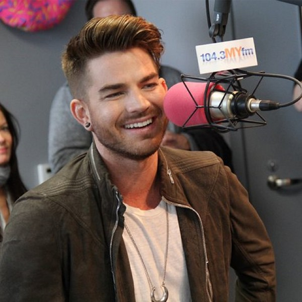 "1043 MYfm<br /> ‏@1043MYfm<br /> Ah! @adamlambert sang a line from his album, u can't hear this song anywhere yet <a href=""http://bit.ly/1OFDsew"">http://bit.ly/1OFDsew</a>  w/ @Go4Valentine #TheOriginalHigh<br /> <br /> <a href=""https://twitter.com/1043MYfm/status/590888367698481152"">https://twitter.com/1043MYfm/status/590888367698481152</a>"
