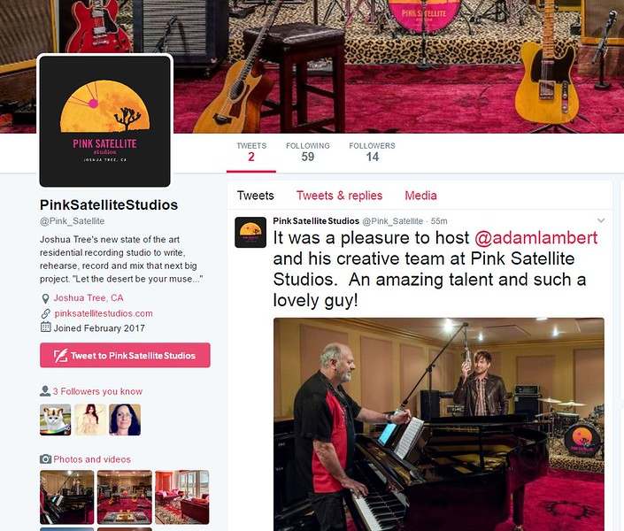 New Twitter April 1  PinkSatelliteStudios  @Pink_Satellite