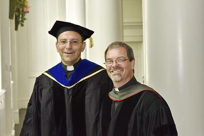 The Rev. Dr. Mitri Raheb and the Rev. Dr. David D. Grafton