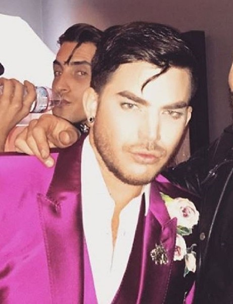 ✨🍾💕 xandertarigo Thank for the epic NYE bash @adamlambert 🍾💕 #2017