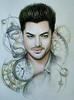 Oksssana @Oksana_Adamova  @adamlambert new fan art