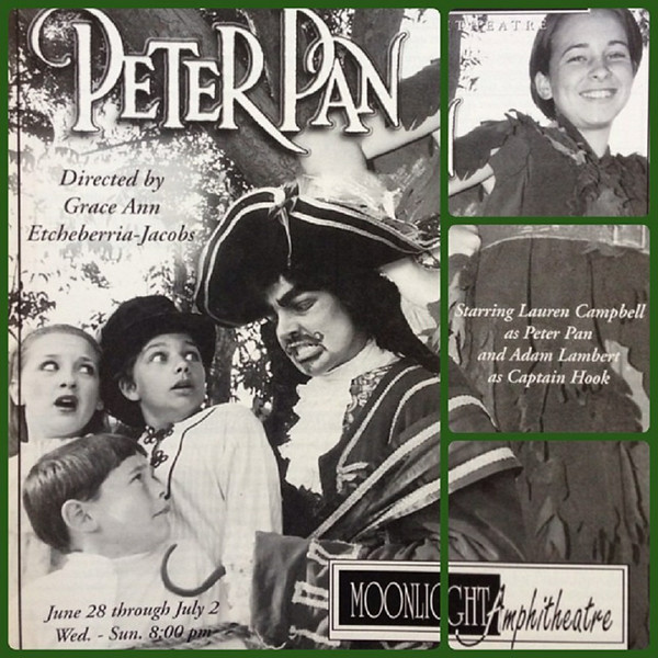 """heykean<br /> July 3<br /> #tbt when I played 'John' in a production of Peter Pan with the incredibly talented @adamlambert!! #musicaltheater #peterpan #glambert #sing #dance #play #captainhook #stage #musical<br /> <br /> <a href=""""http://instagram.com/p/p_z_NivMPu/"""">http://instagram.com/p/p_z_NivMPu/</a>"""