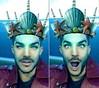 魔性 😂  Adam's snapchat July 3 screencaps by 莉莉……me