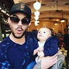 👶Adam with Remy in San Jose: adamlambert Kickin it w my nephew Remy! #uncleadam