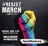 "✨ LA Pride is hosting ""An epic, peaceful human rights march"" instead of a parade Sunday June 11.  #ResistMarch"