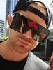 ლ(´ڡ`ლ)  Adam Lambert June 3 South Bank, London, near the river Thames. Thanks @TracyWiseman2  Flipped