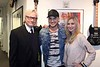 Christine Nagy Love my job! With amazing Adam Lambert and my friend Jim Kerr from Q104.3 FM.