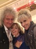 Cheryl Townsend‏  @Ctownsend37   Feeling very star struck. Fab selfie with @DrBrianMay and @AnitaDobsonFC. Thank you so much for making my day!