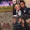 Charl Brown‏ @thecharlbrown  2 C colleagues & Friends #2017TonyNominee Christine Ebersol & Jen Rias @warpaintmusical w/bud @adamlambert on #TonyNominations nite #winning