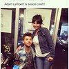 uzette  One the most gracious guests ever! #aliceradio #adamlambert #radiolife