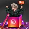 SHΛRKΛ  ☕  @creativesharka    CONGRATULATIONS @adamlambert ! 1,000,000 followers on Instagram!  New chibi KILLER QUEEN #AdamLambert #fanart