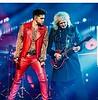adamlambert  @officialqueenmusic @brianmayforreal #prague #queen+adamlambert