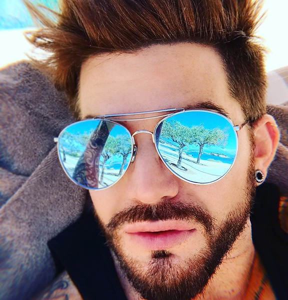 ♬♫♪◖(●◡●)◗♪♫♬ Adam Lambert's Oct 1 IG Olive the Reflections