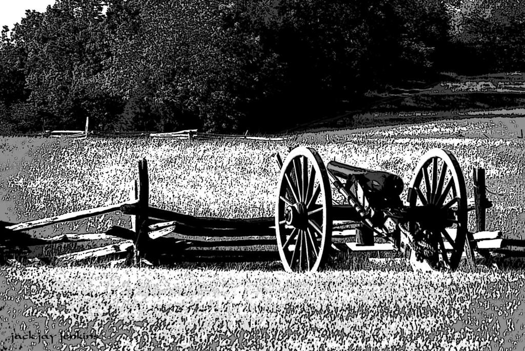 Confederate artillery is now quiet.