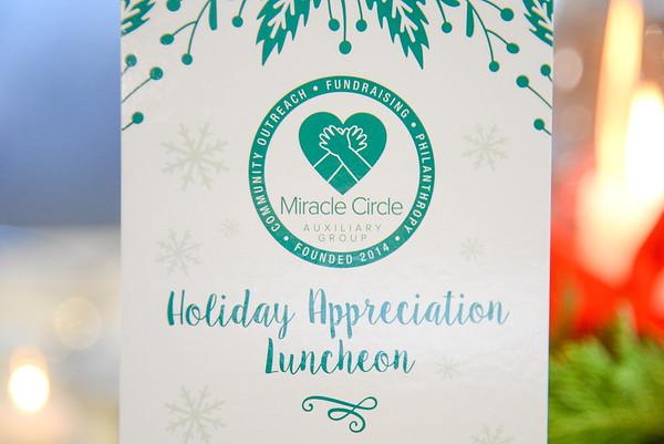 Appreciation Luncheon December 2016