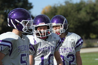 Football JV Piedmont vs Mt. Eden