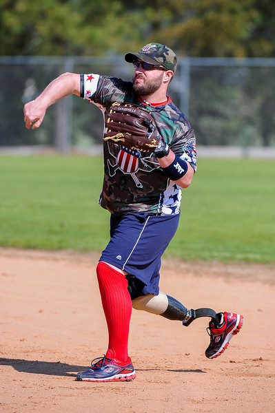 Wounded Warriors Softball