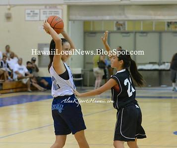 06-22-14 Eastsidaz 7th Graders Girls Basketball vs Titans