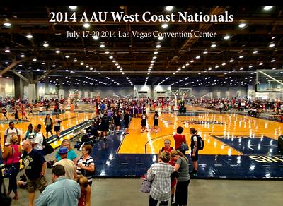 07-18-14 AAU West Coast Nationals - Eastsidaz 8th vs SC Swish n Swag (46-37) vs Vegas Thunder (61-58) 10th vs OK Lady Soldiers (37-67) 8th vs AIMHIGH Elite Athletes (48-17).