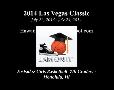 """07-24-14 JOI """"Las Vegas 2014 Classic 7th """"vs"""" Las Vegas Thunder (57-64) and Varsity vs North Metro Bengals (39-30) and AWARDS."""