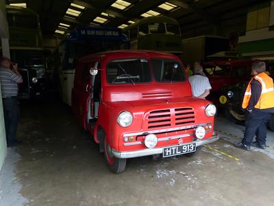 Bedford CA Van [HTL913] 150809 LVVS, Lincoln