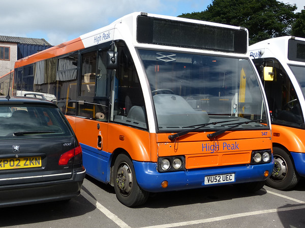 Centrebus [High Peak] 347 160807 Dove Holes