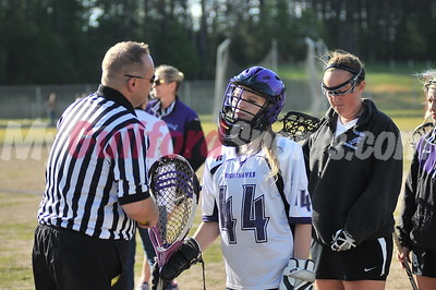 4/27/15 Conference 6 Tournament-Grimsley vs Northern Guilford-Women's Varsity Lax