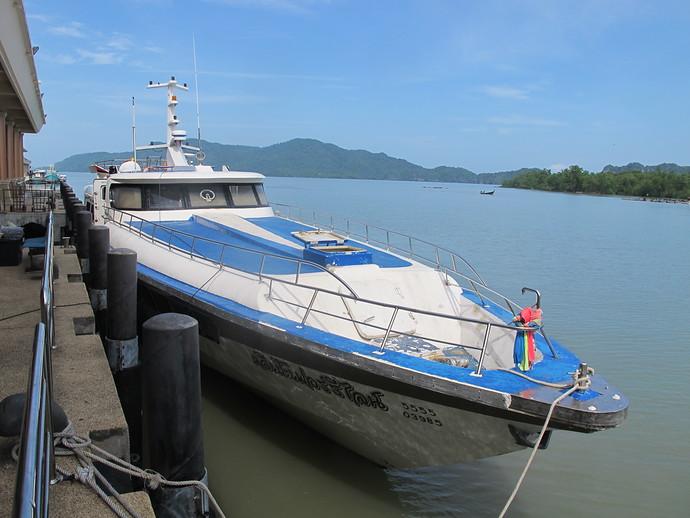 Pakbara to Koh Lipe Ferry