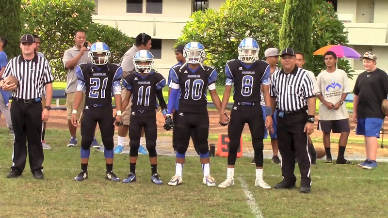 MoHS JV Football vs Aiea Na Alii 2014
