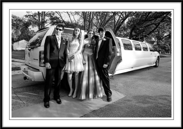 Corbin -Floriane-Dylan-Mandy SN 2014 Prom