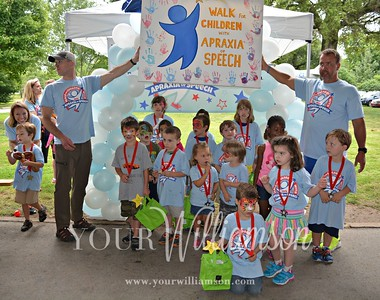 Nashville Walk for Children with Apraxia of Speech
