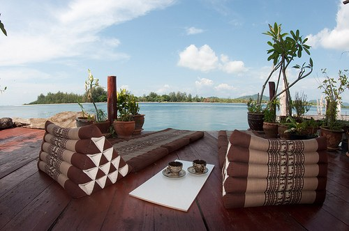 Relax on the private pier with breathtaking views