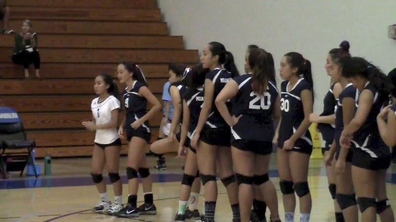 MoHS White Division Girls Volleyball vs Iolani 2014