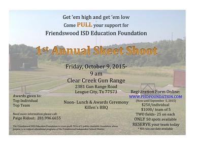 FEF 1st Annual Skeet Shoot