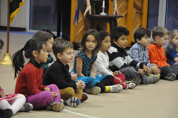 Kindergartners Kick Off Bandage Drive