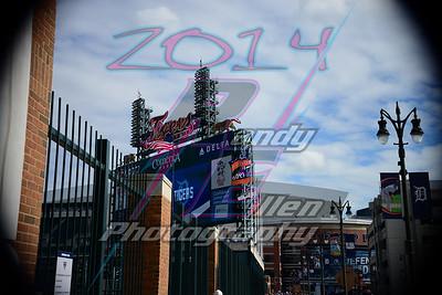 Ford Field Tigers 10-5-2014