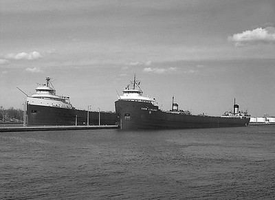 Catalog #:  HW-EF-01-BW.  With Cason J. Callaway at the Soo Locks.
