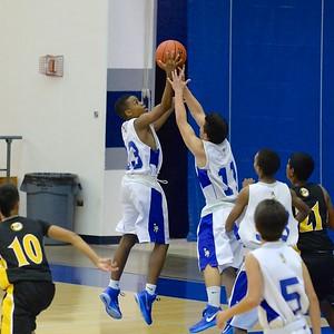 12-19-14 MoHS Na Menehune JV Boys Basketball vs Nanakuli Golden Hawks