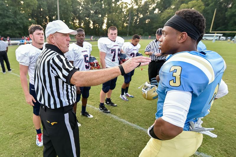 Beddingfield Kavajae Ellis #3 .Beddingfield defeats Southern Nash 19-7 on Thursday night August 28, 2014 in Wilson NC (Photos By Anthony Barham)