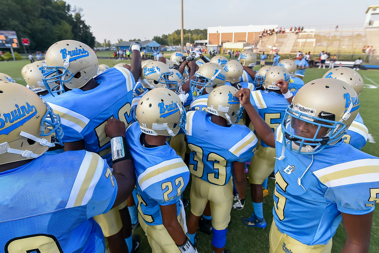 Beddingfield defeats Southern Nash 19-7 on Thursday night August 28, 2014 in Wilson NC (Photos By Anthony Barham)