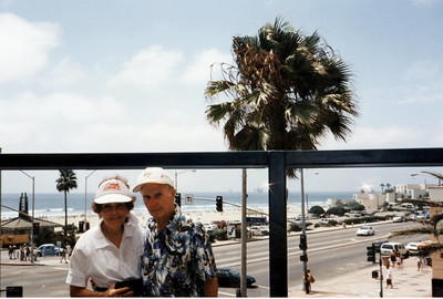 2001 Mom  Dad Huntington Beach