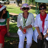 Santa's little helpers: Maree, Val and Ellie