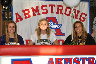 2013 Fall College Signing