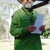 Saturday, 23/11 - day 2: Run organiser Stuart James briefs the team at Apex Park, Wangaratta