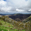 Saturday, 23/11 - day 2: The view from Hotham Village car park