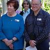 Saturday, 23/11 - day 2: Lyn  & Ian Williams at Apex Park, Wangaratta