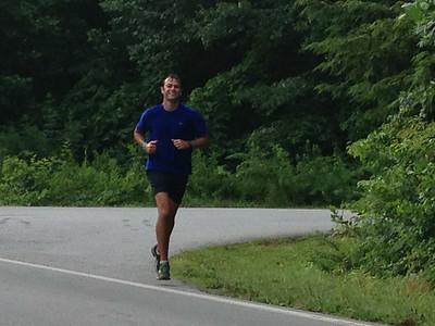 Coach Dudley made the full Art Loeb trail run!