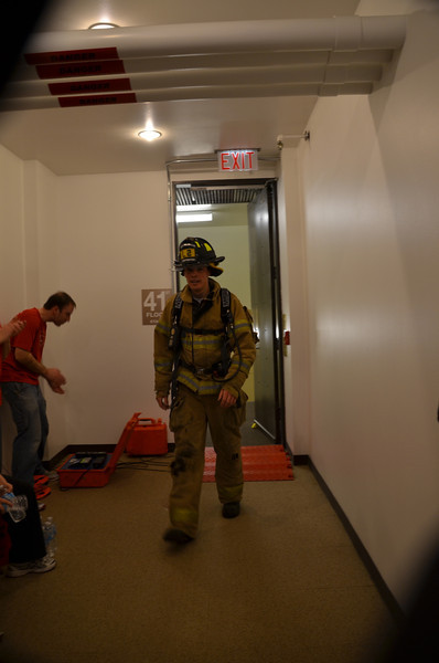 2014 Fight for Air Climb- Firefighter Finish