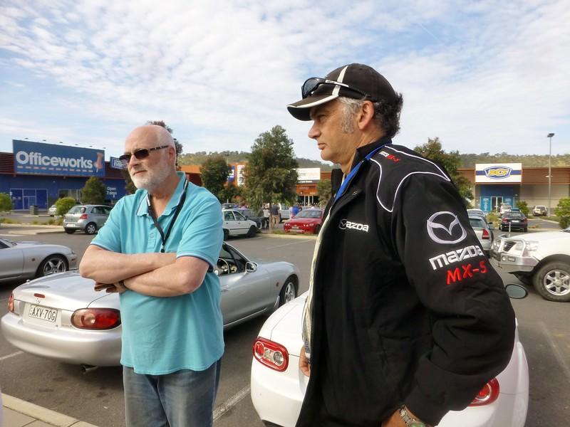 Peter Ferguson with Brian Raine